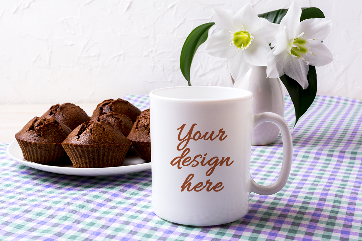 Coffee mug mockup bundle example image 9