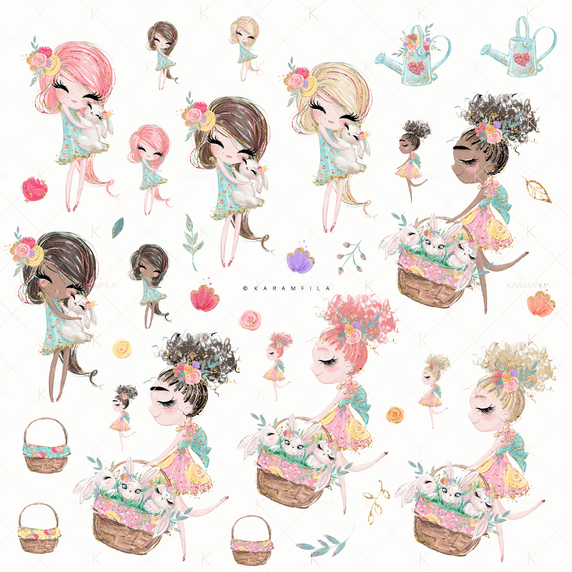 Easter Clipart example image 2
