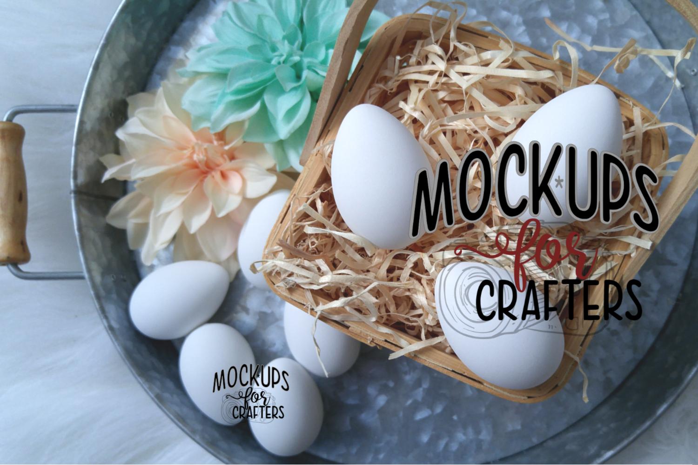 MOCK-UP - Easter Eggs - White - Dollarama example image 1