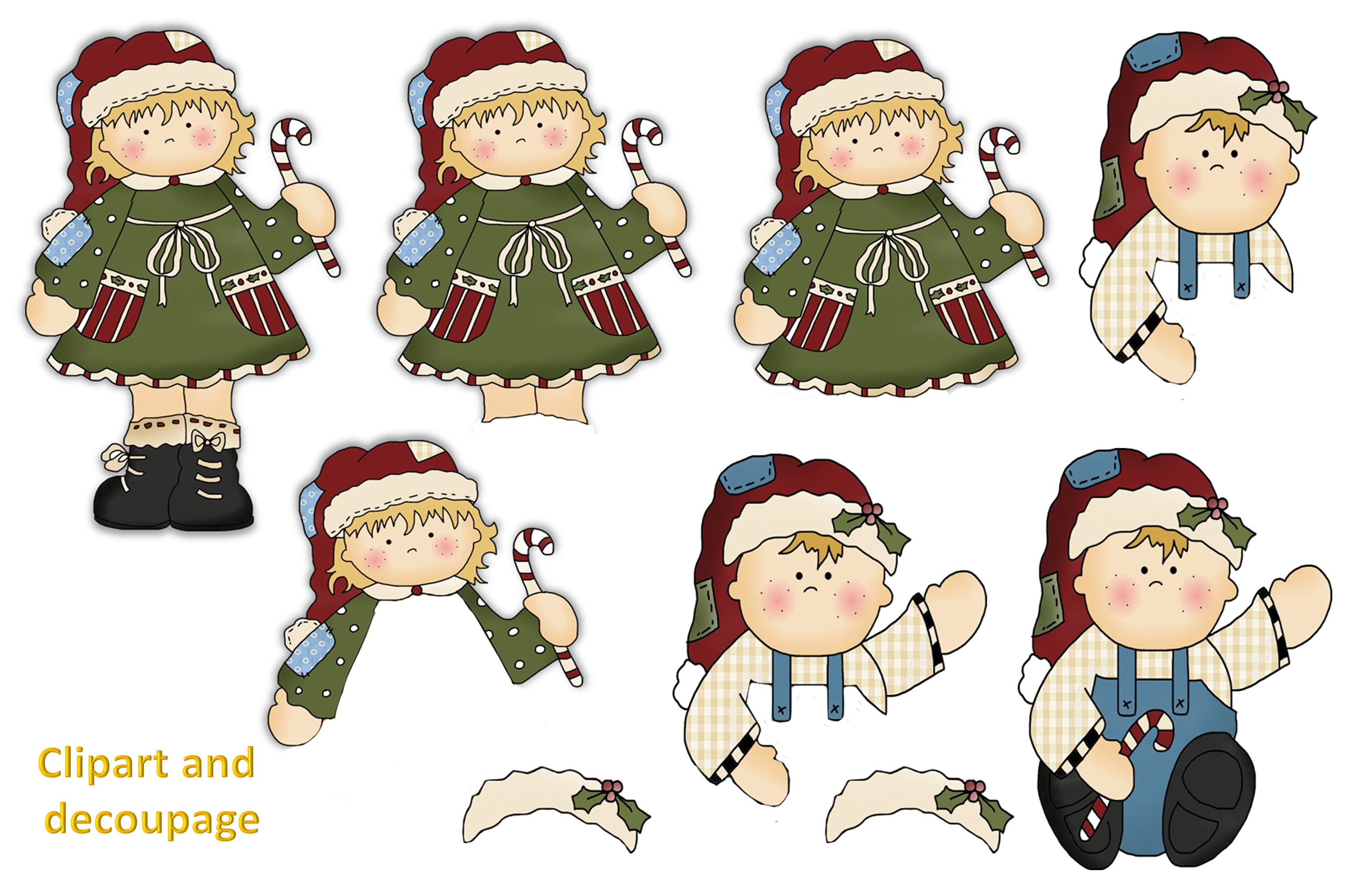 Christmas Crafts Bundle JPEG and PNG Commercial Use example image 5
