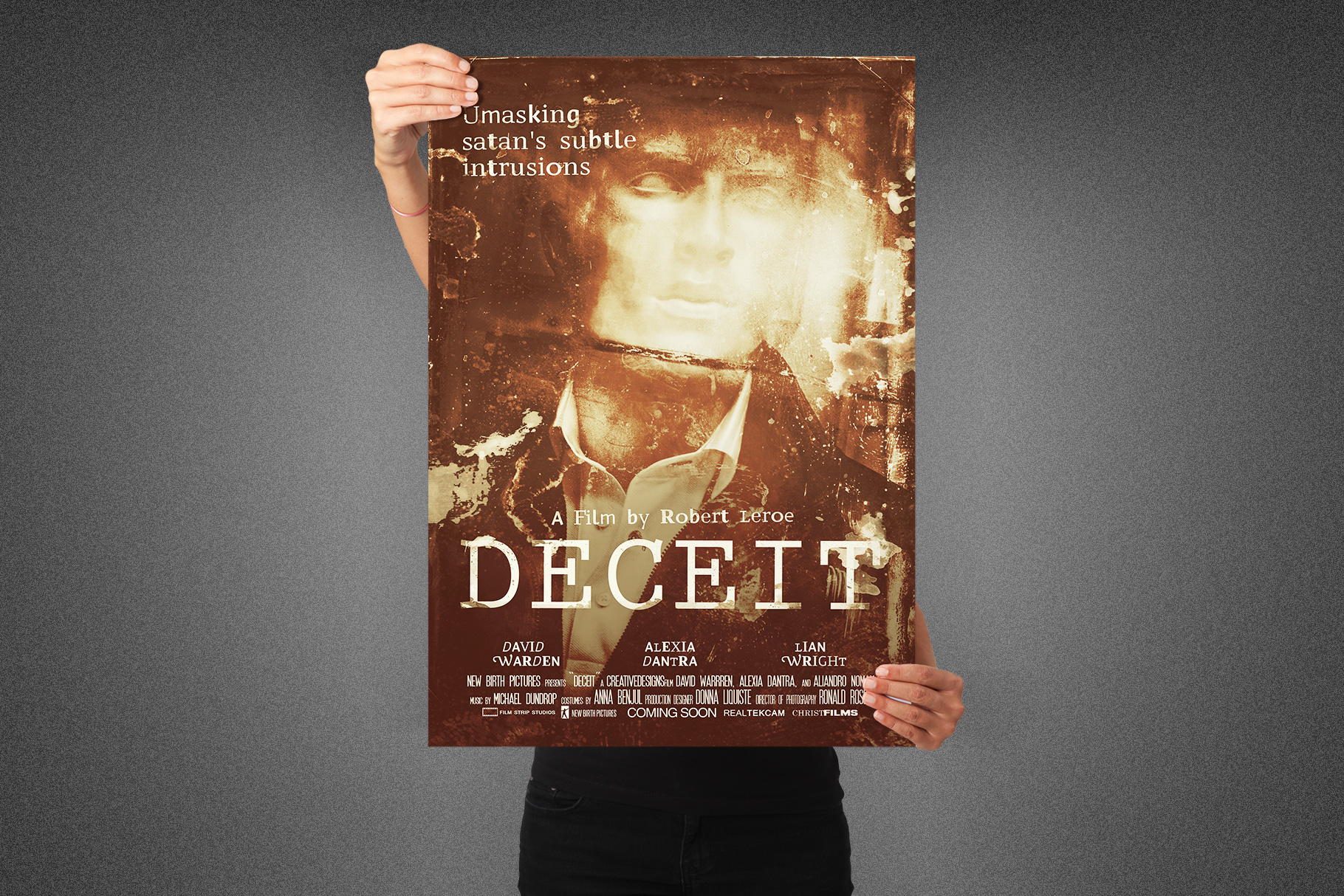 Deceit Movie Poster Template example image 1