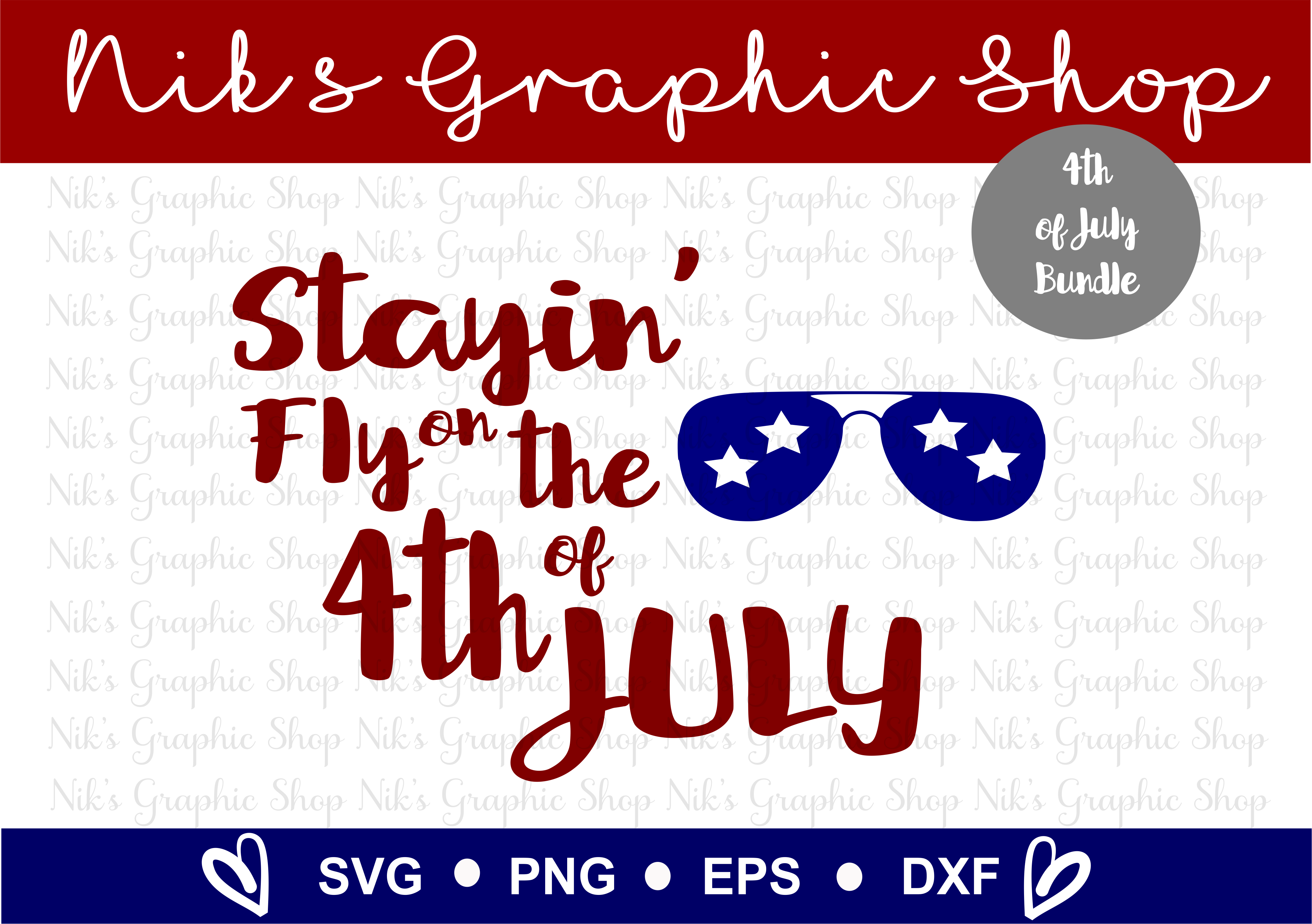 4th of July SVG, Fourth of July, July SVG, 4th SVG, Fourth example image 9