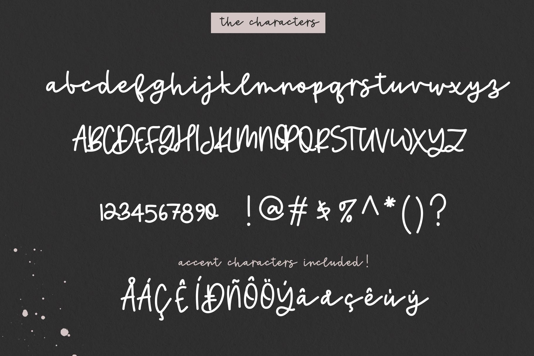 Sweetheart - A Handwritten Script Font & Doodles example image 10