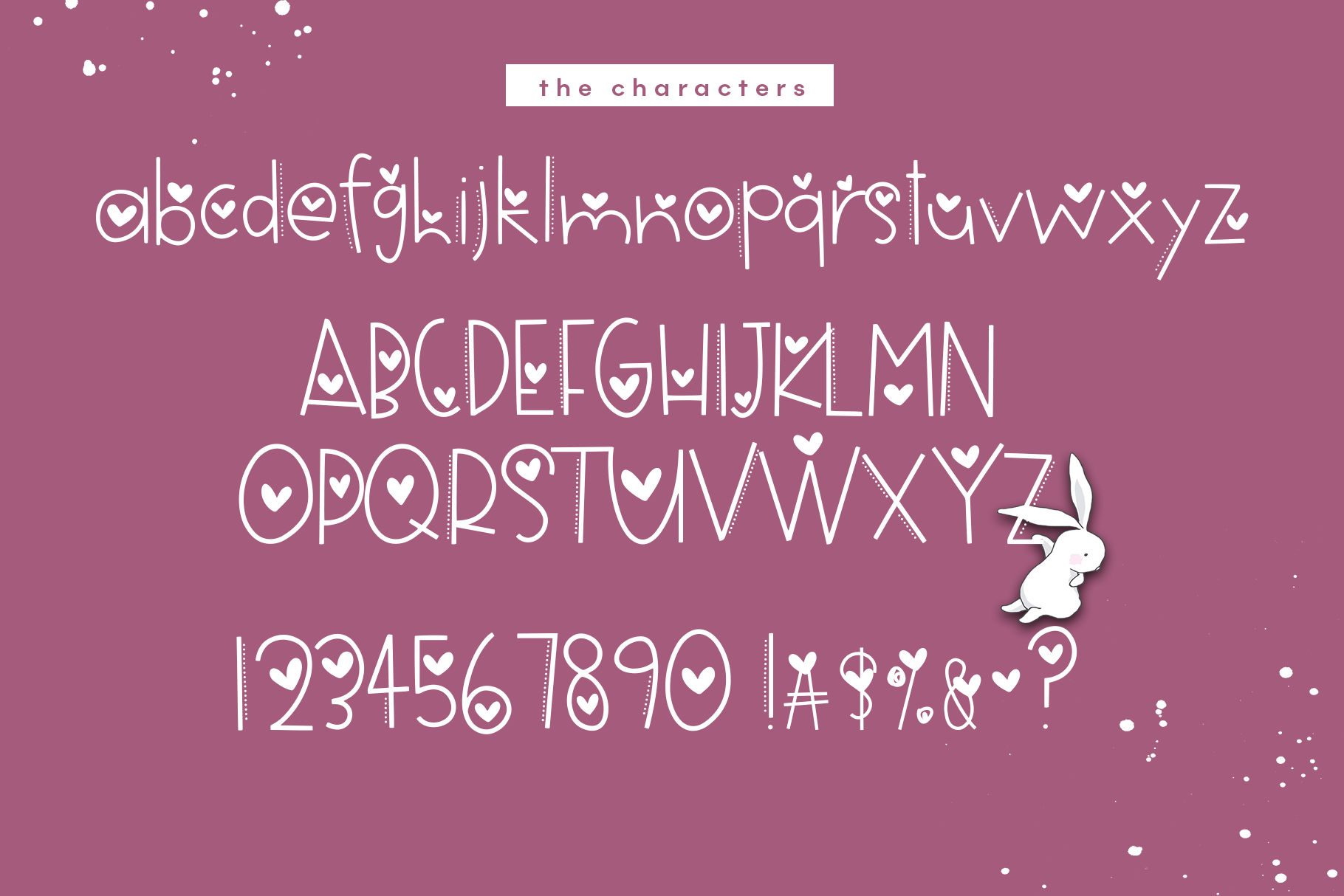 Hi Valentine - A Valentine's Day Font example image 9