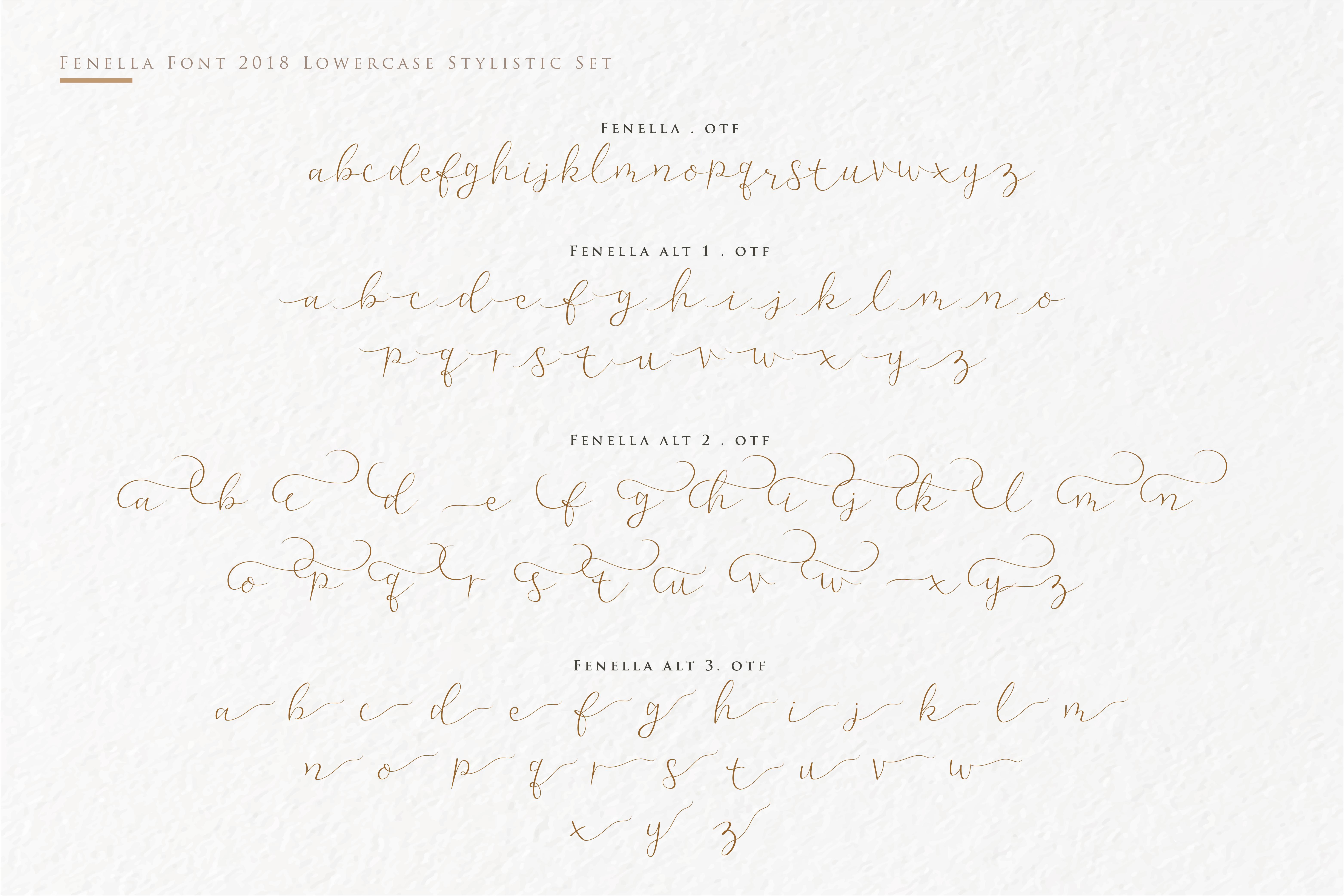 Fenella - Luxury Romantic Font example image 9