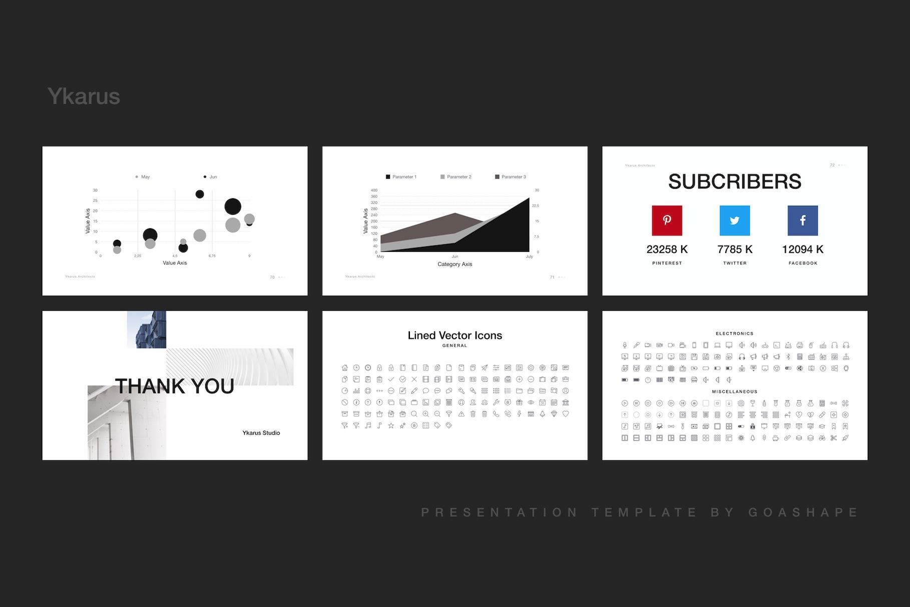 Ykarus Keynote Presentation Template example image 3