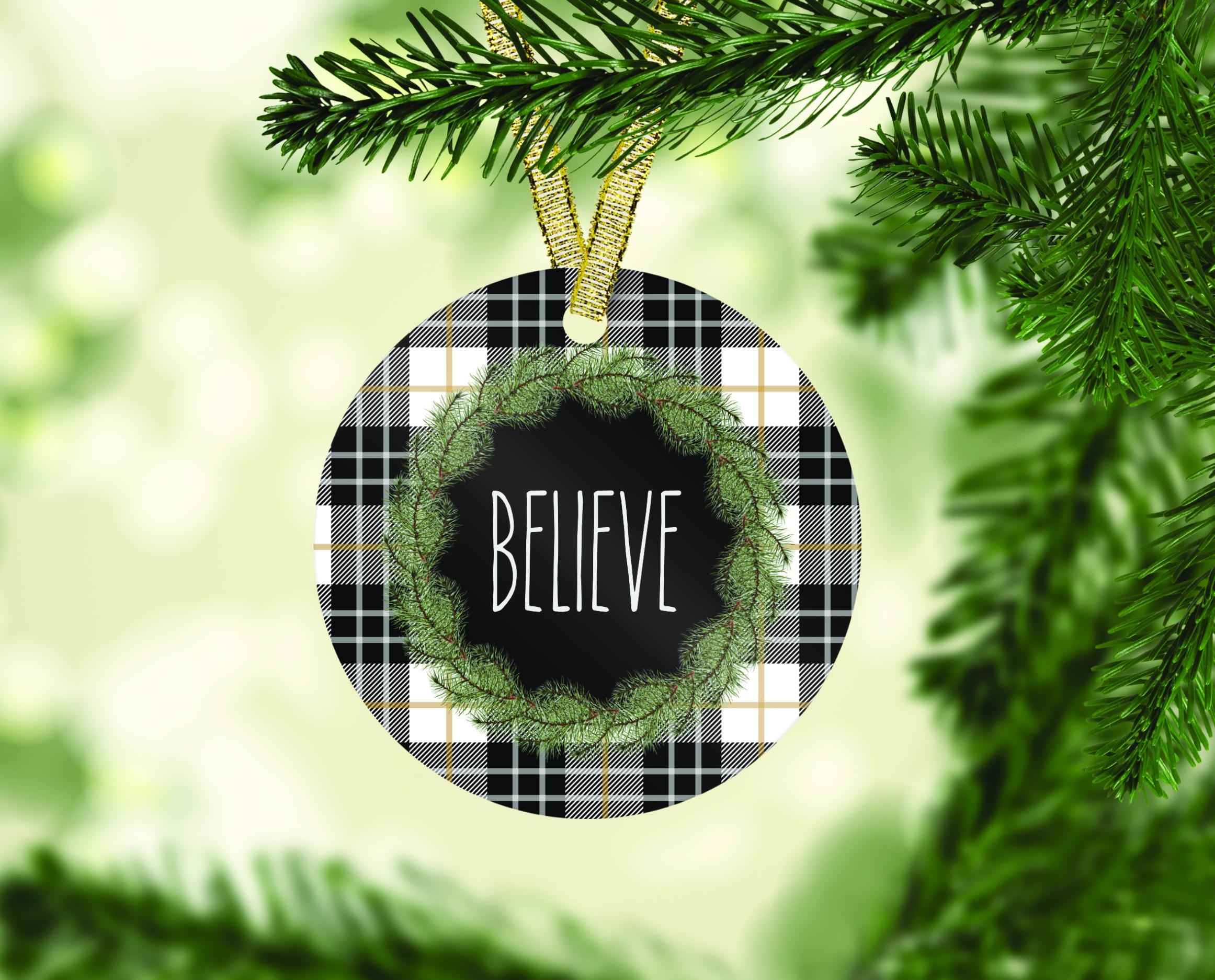 Farmhouse Christmas Ornament Bundle, Perfect for Sublimation example image 3