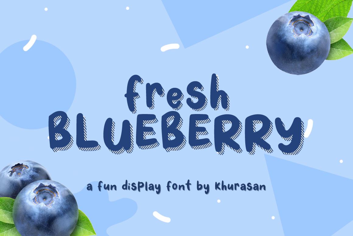 Fresh Blueberry example image 1