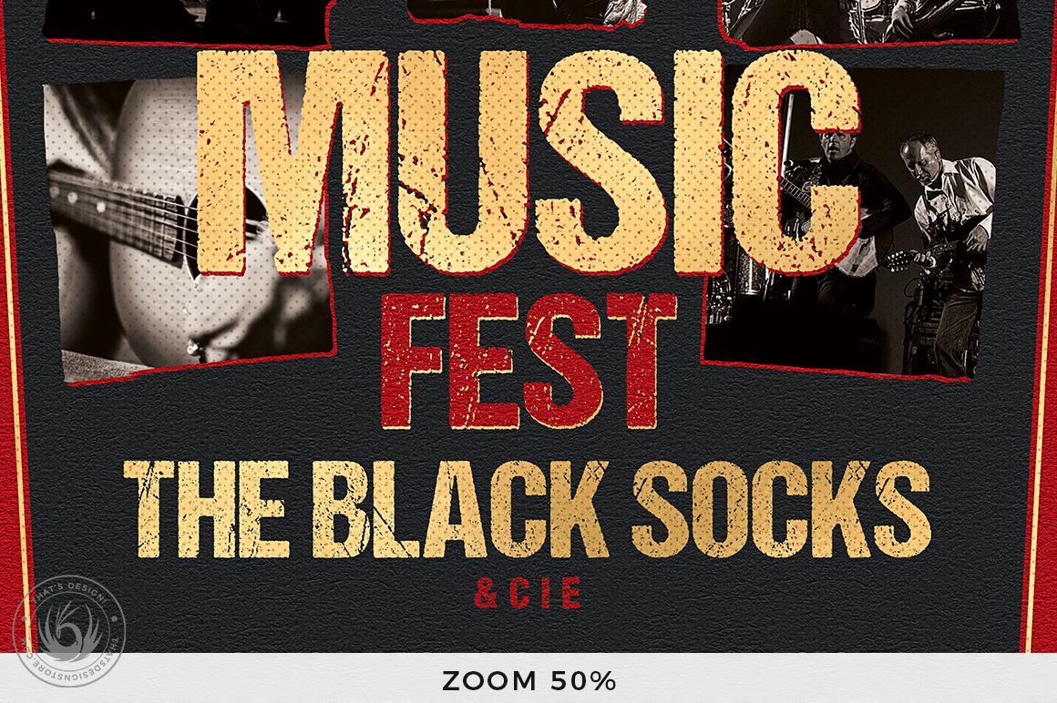 Concert Live Flyer Bundle V6 example image 8
