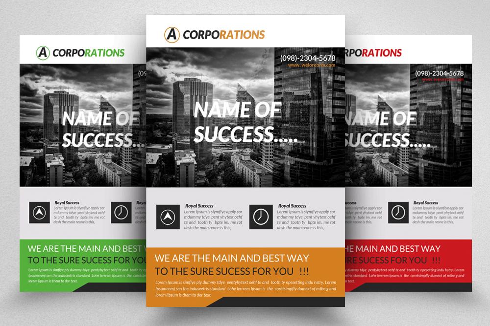 6 Corporate Business Flyers Bundle example image 7