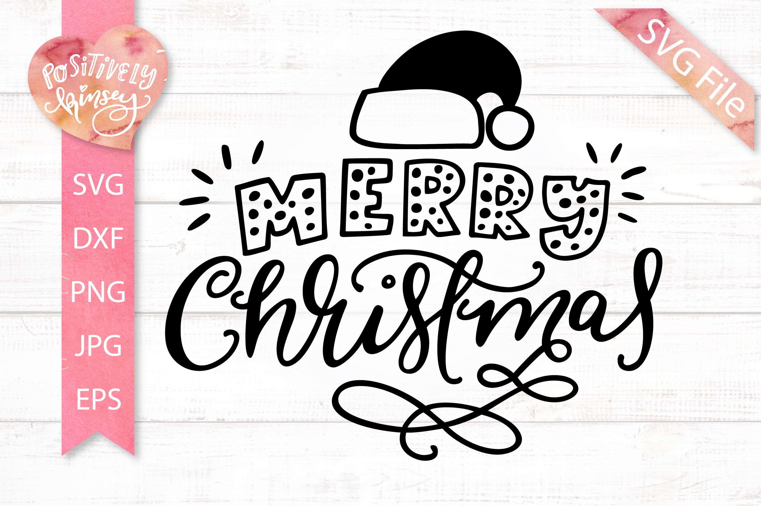 Merry Christmas SVG DXF PNG EPS Christmas Ornament Svg FIle example image 1