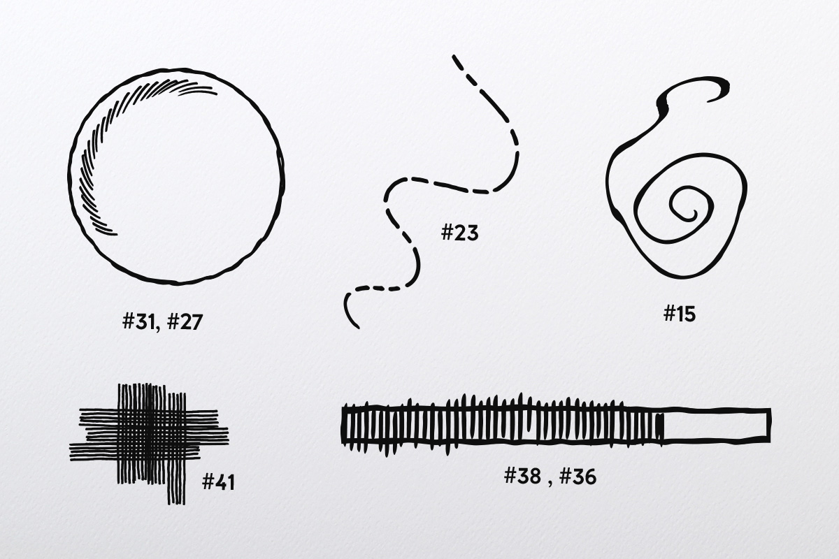 Doodle Brush Collection example image 3