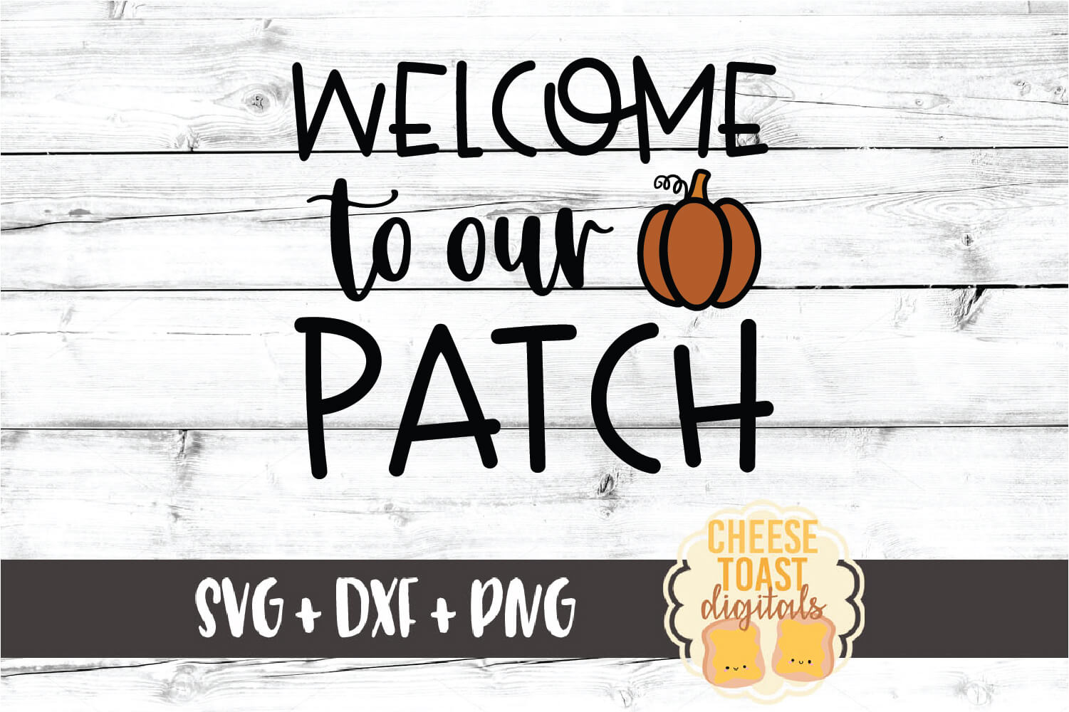 Welcome To Our Patch - Fall SVG PNG DXF Cut Files example image 2