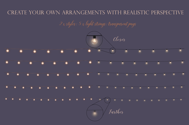 Fairy light overlays example image 4