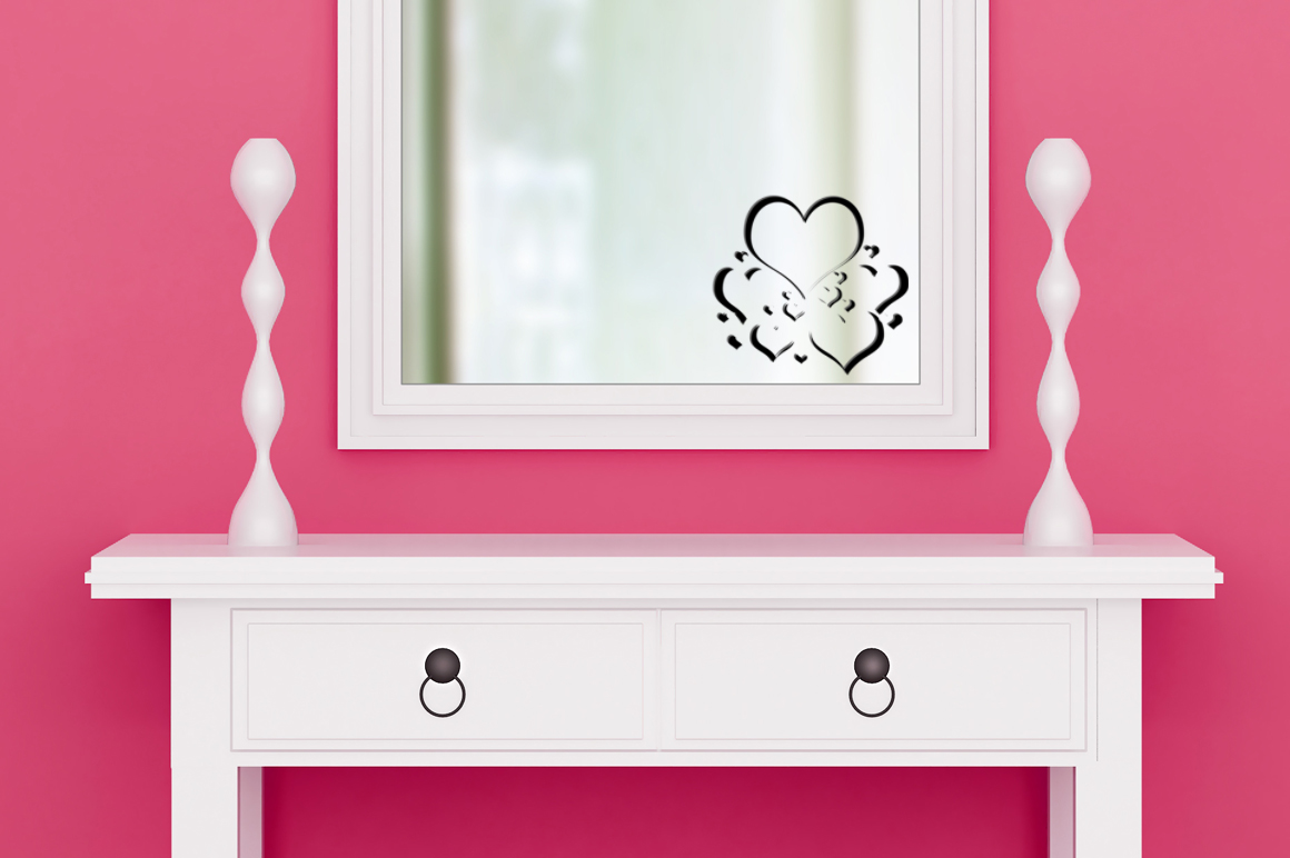 Dressing room for mirror decals example image 3