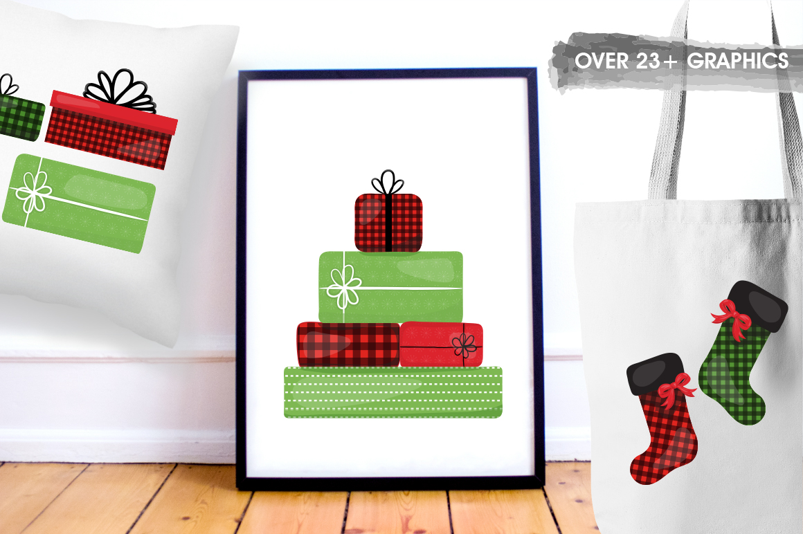 Christmas Gift graphic and illustrations example image 2