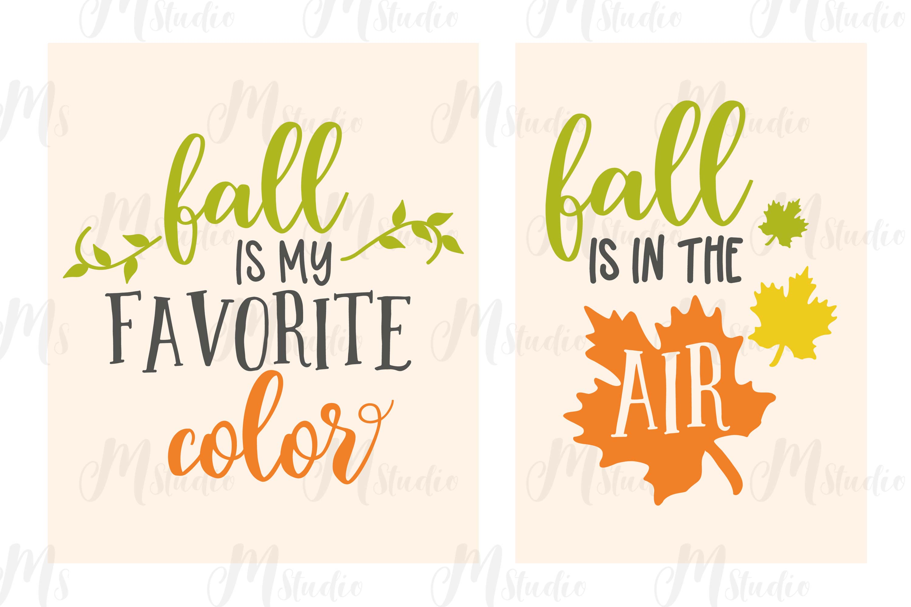 Fall SVG Bundle. example image 10