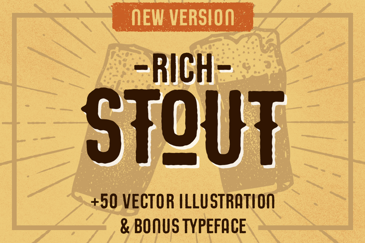 STOUT Typeface example image 1