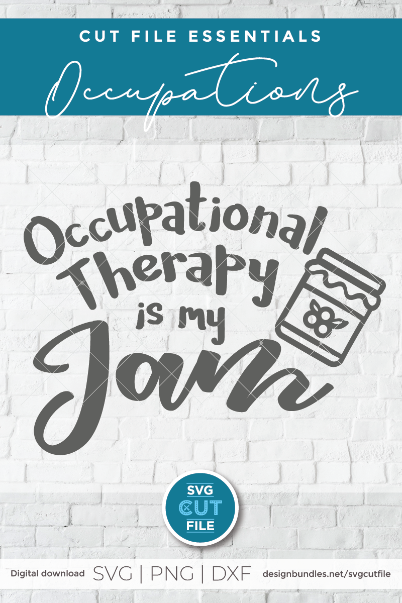 Occupational Therapy svg, Occupational Therapist svg, My Jam example image 2