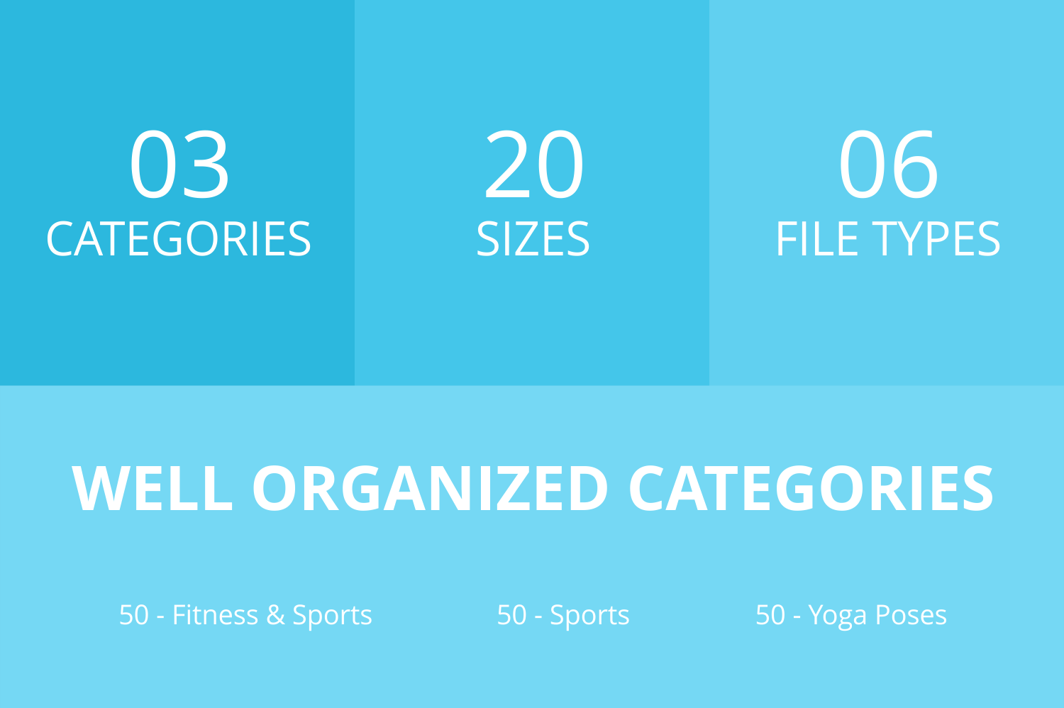 150 Fitness & Sports Filled Low Poly Icons example image 3
