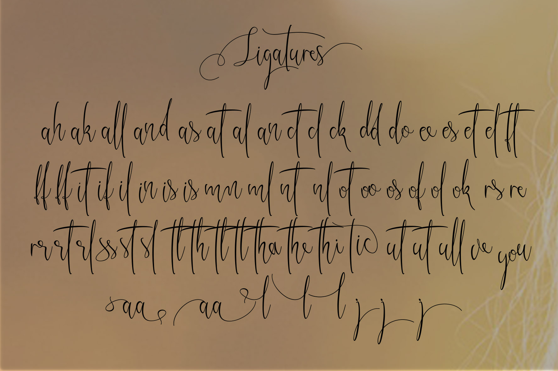 Kristallian Script example image 8
