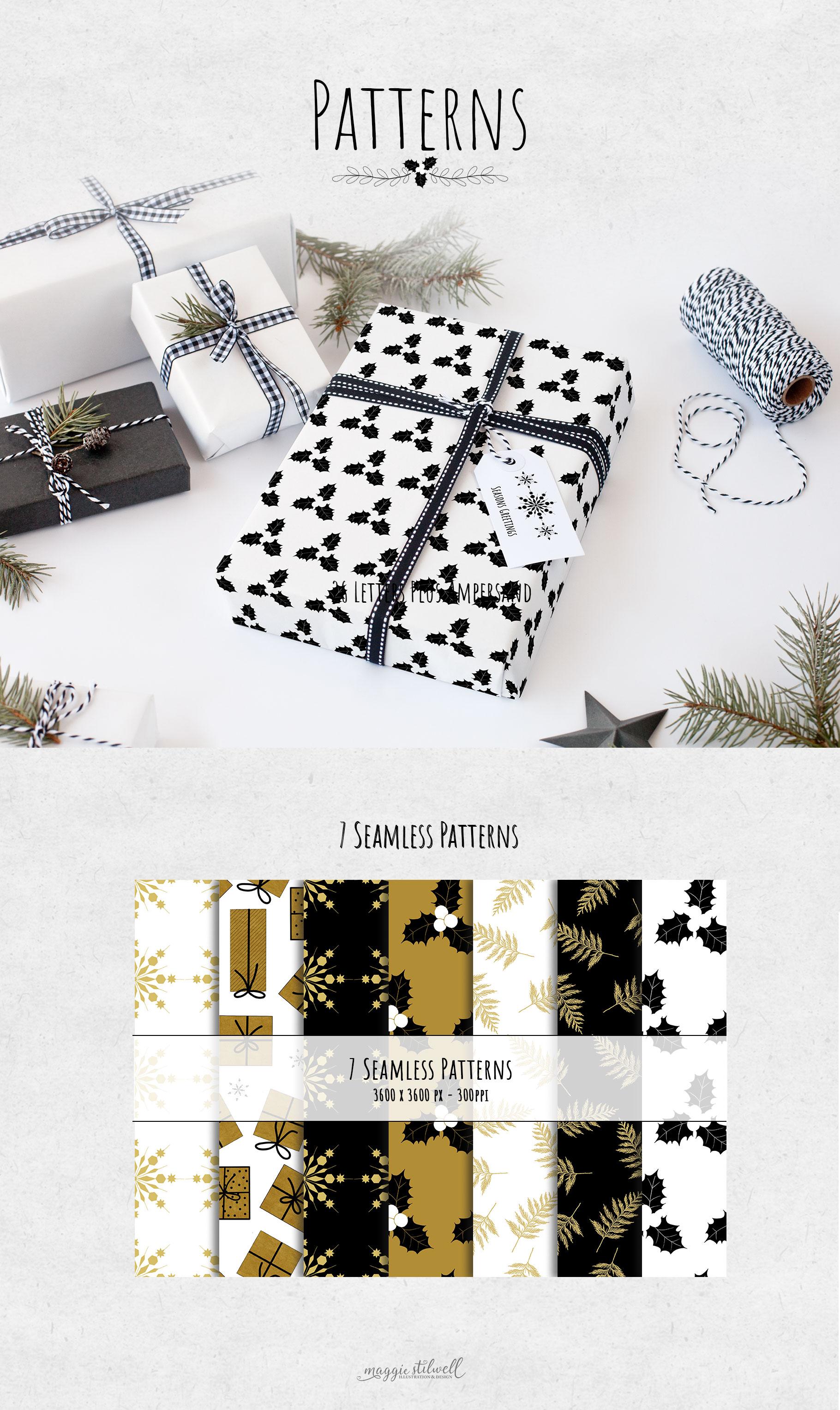 Black & Gold Christmas example image 7