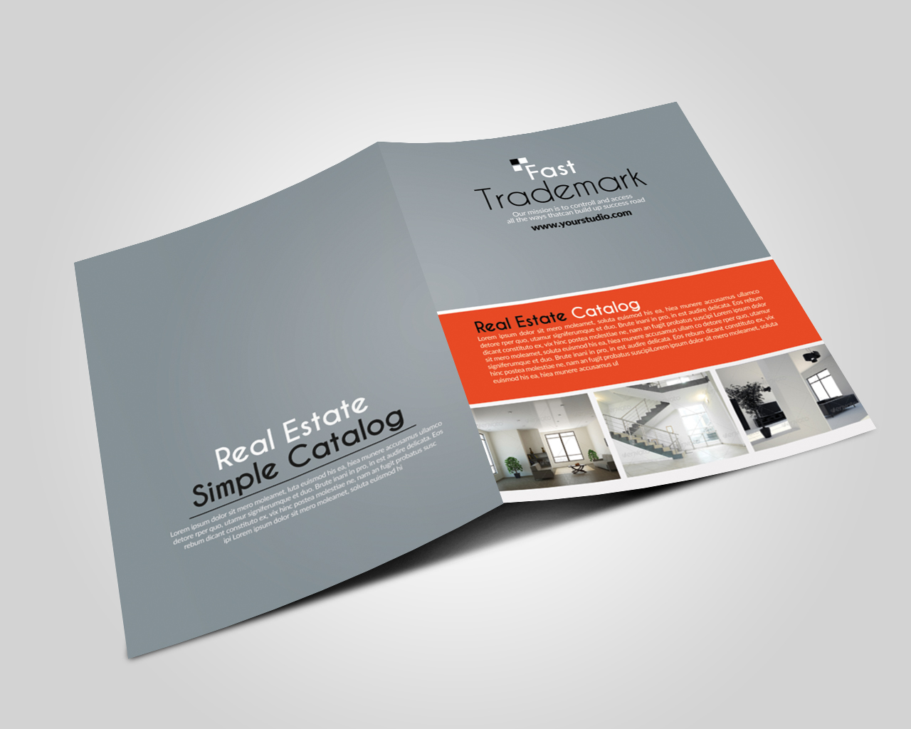 10 Pages Business Bifold Brochure example image 2
