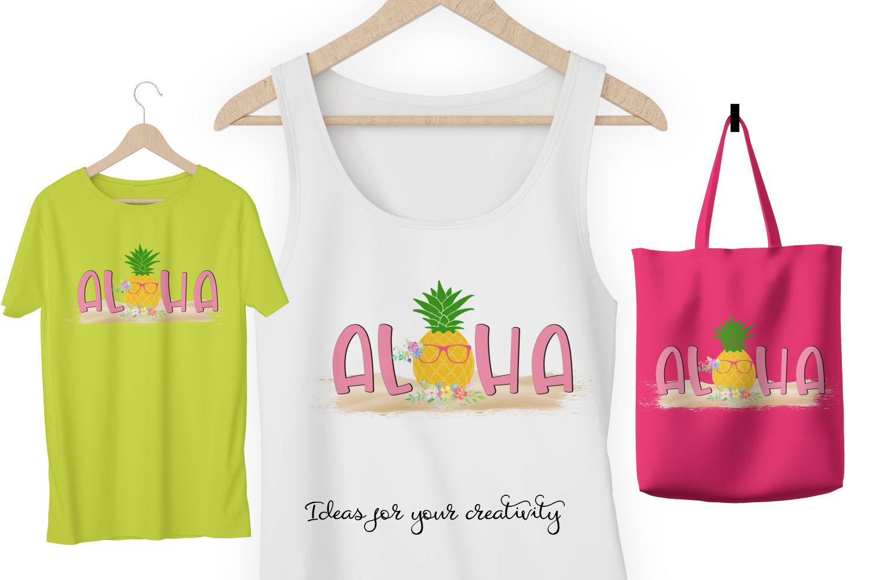 Aloha Sublimation Design example image 2