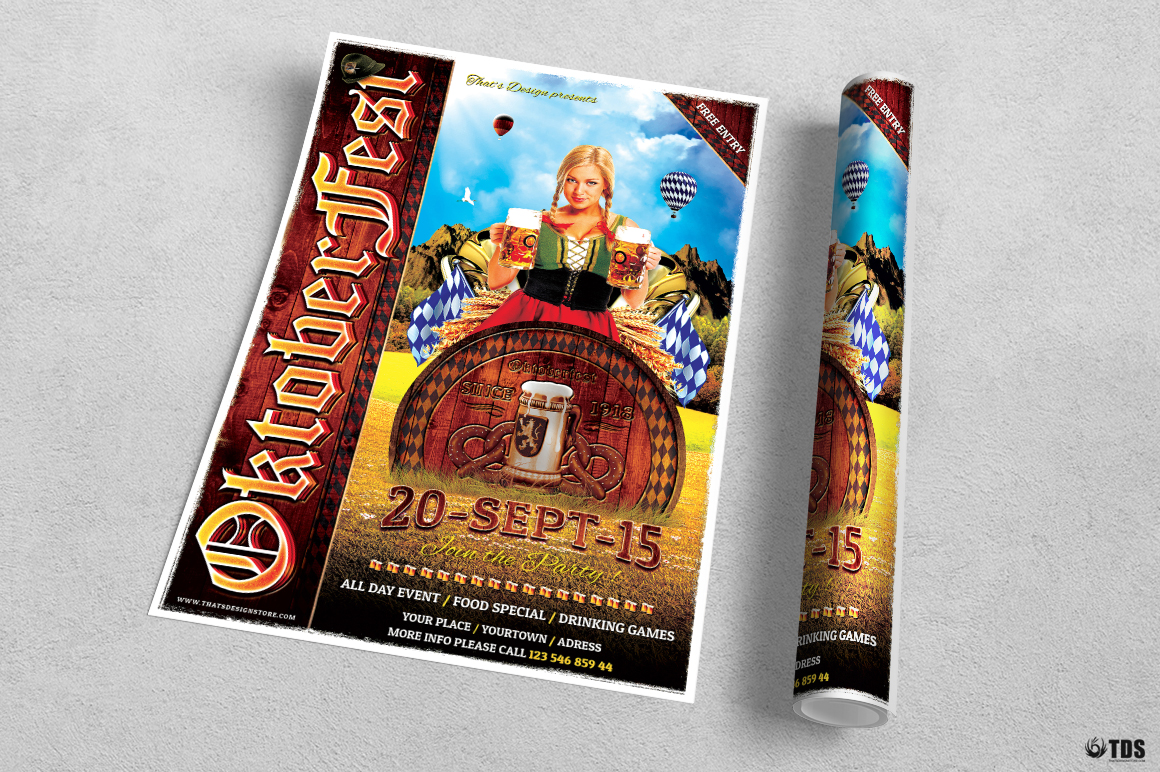 Oktoberfest Flyer Template V3 example image 3