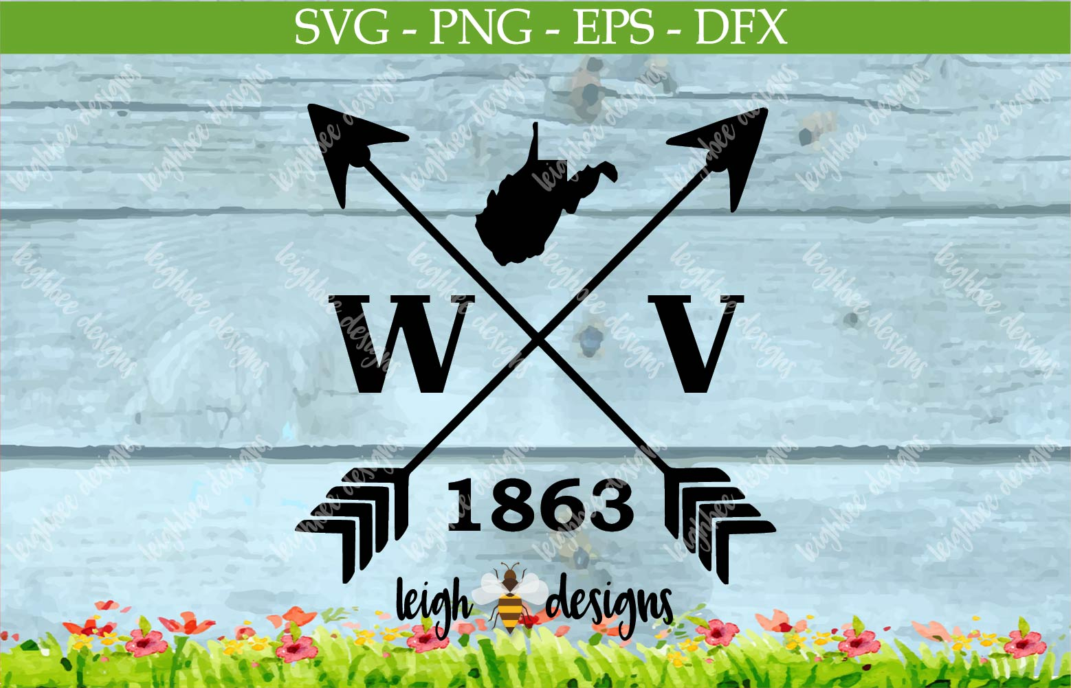 Arrow West Virginia 1863 example image 1