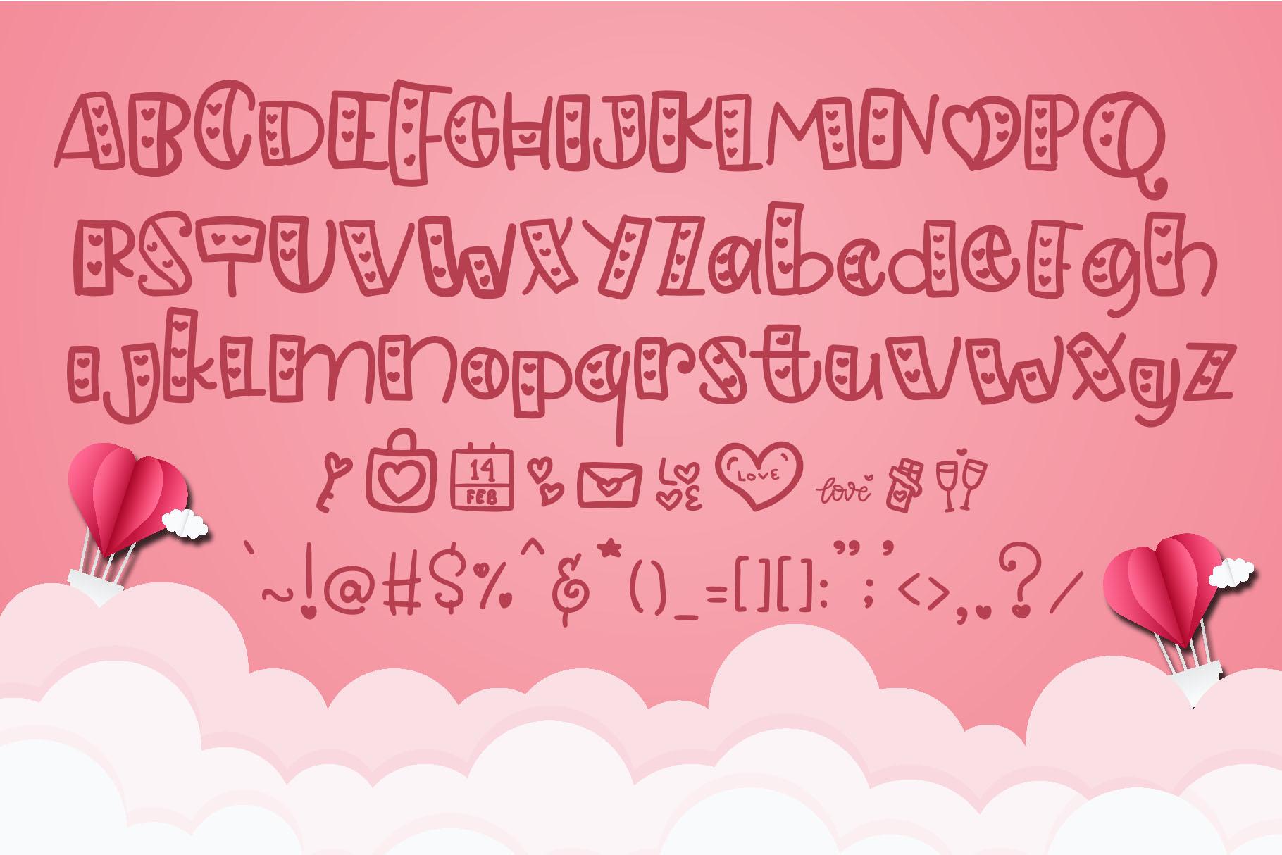 Lovely - Love Handwritten Font example image 2