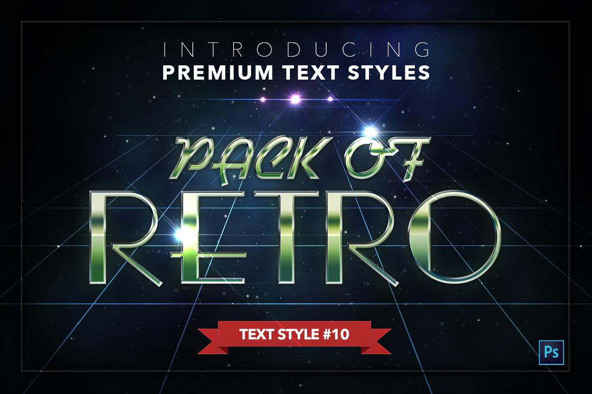 Retro #1 - 20 Text Styles example image 11