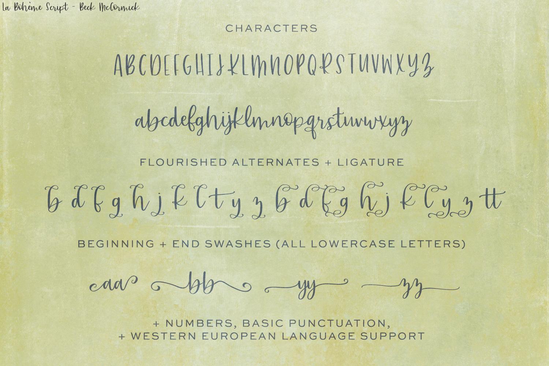 La Boheme Script example image 10