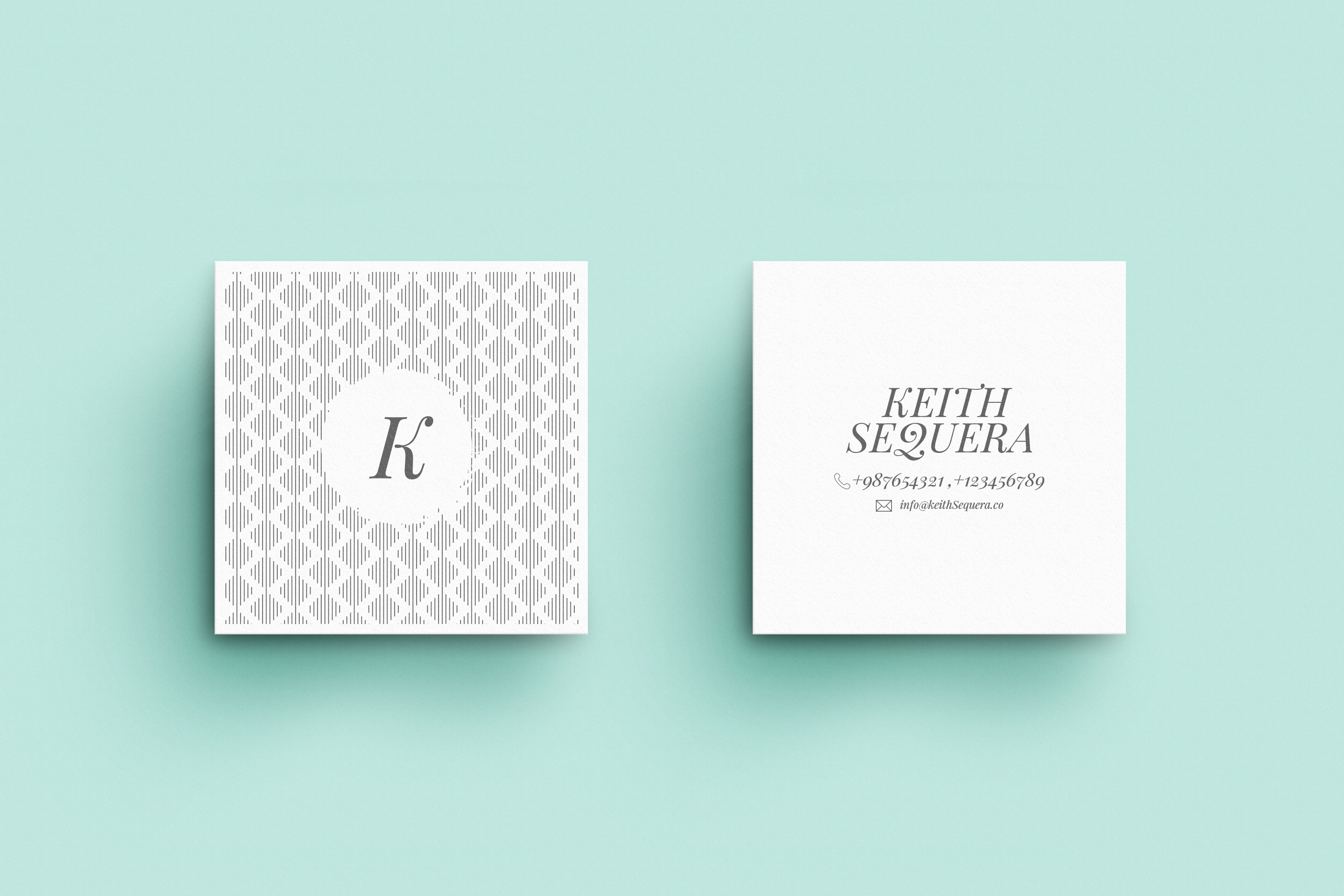 Business Card MockUps with Templates example image 3