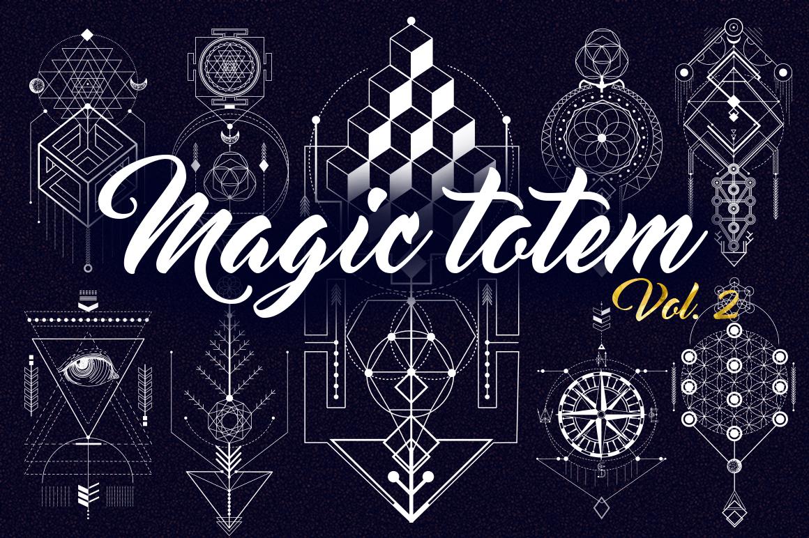 Sacred Geometry. Magic totem vol.2 example image 1