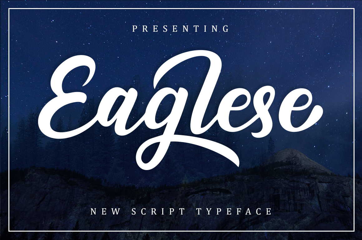 Eaglese Script example image 1