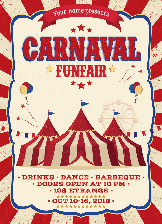 Carnival Fun Fair Flyer Poster