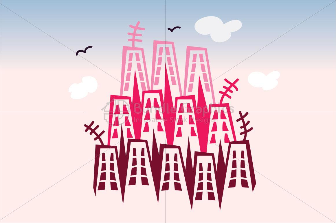 City Scape - Illustrative Background example image 1