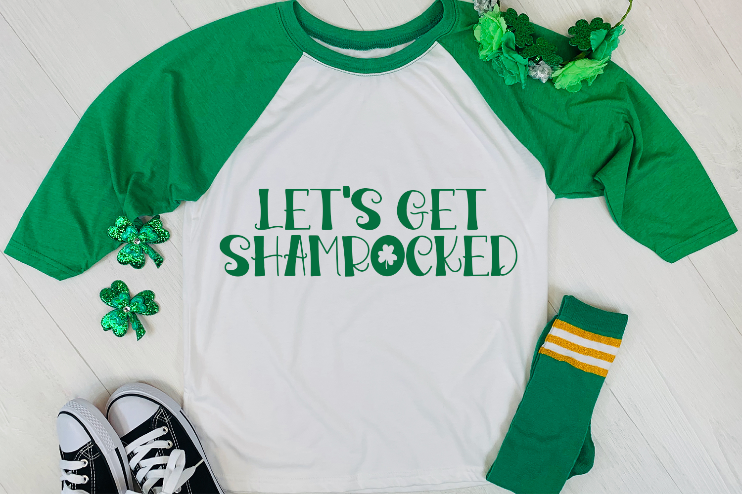 Pinch Proof - A Hand-Lettered St. Patrick's Day Font example image 2