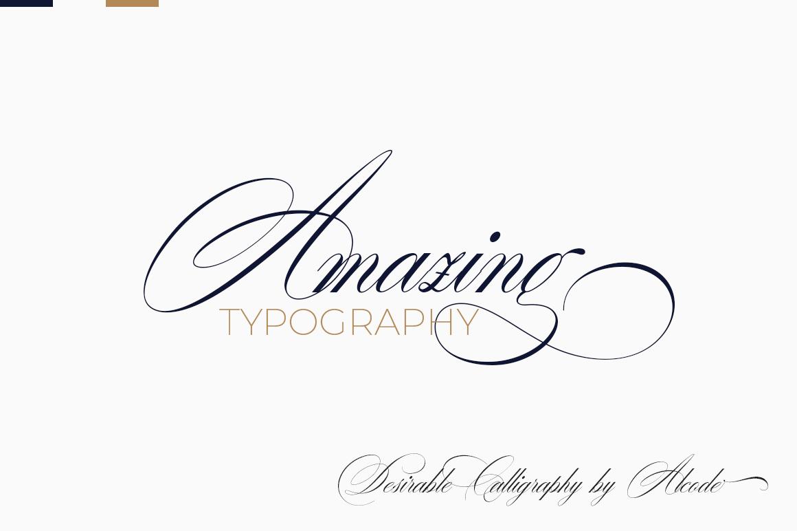 Desirable calligraphy example image 13