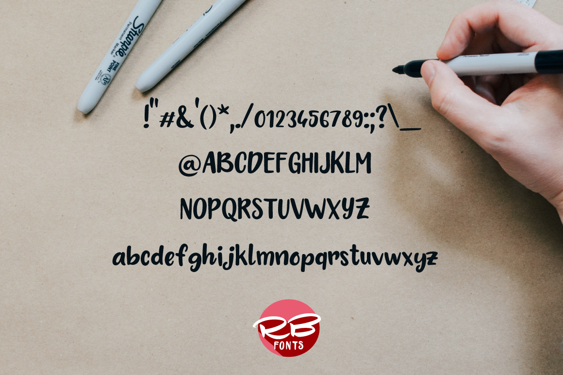 Cherry Bubble font example image 2
