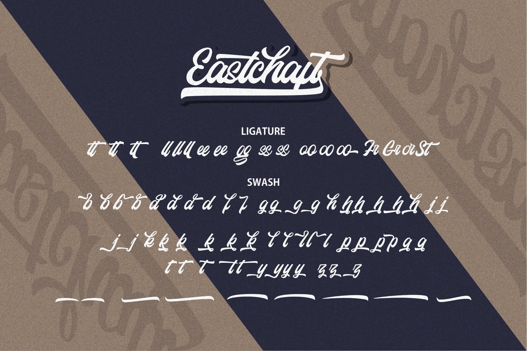 Eastchaft - Script Font example image 13