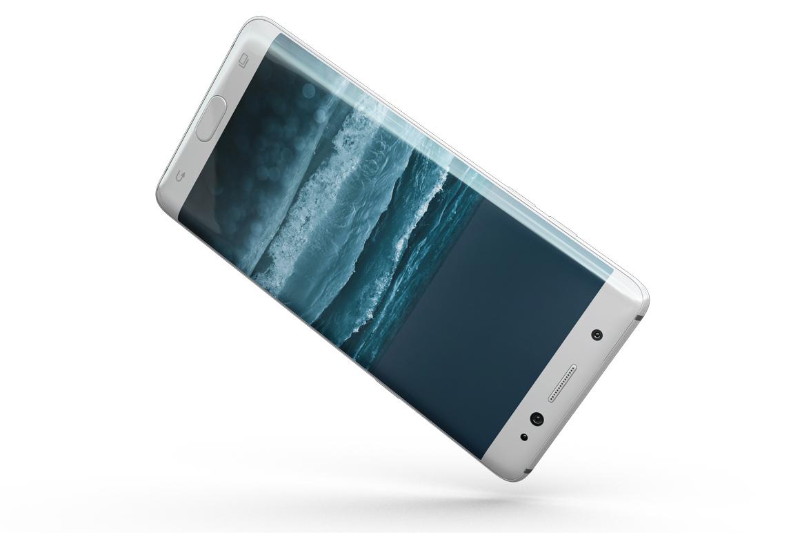 Samsung Galaxy Note 7 Gravity Mockup example image 10