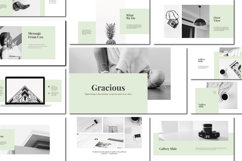 Gracious - Keynote Templates example image 1