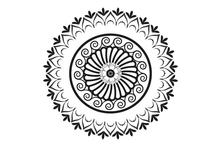 Mandalas. Round forms. example image 6