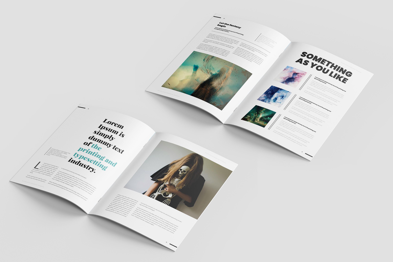 Fantasy Magazine Template example image 8