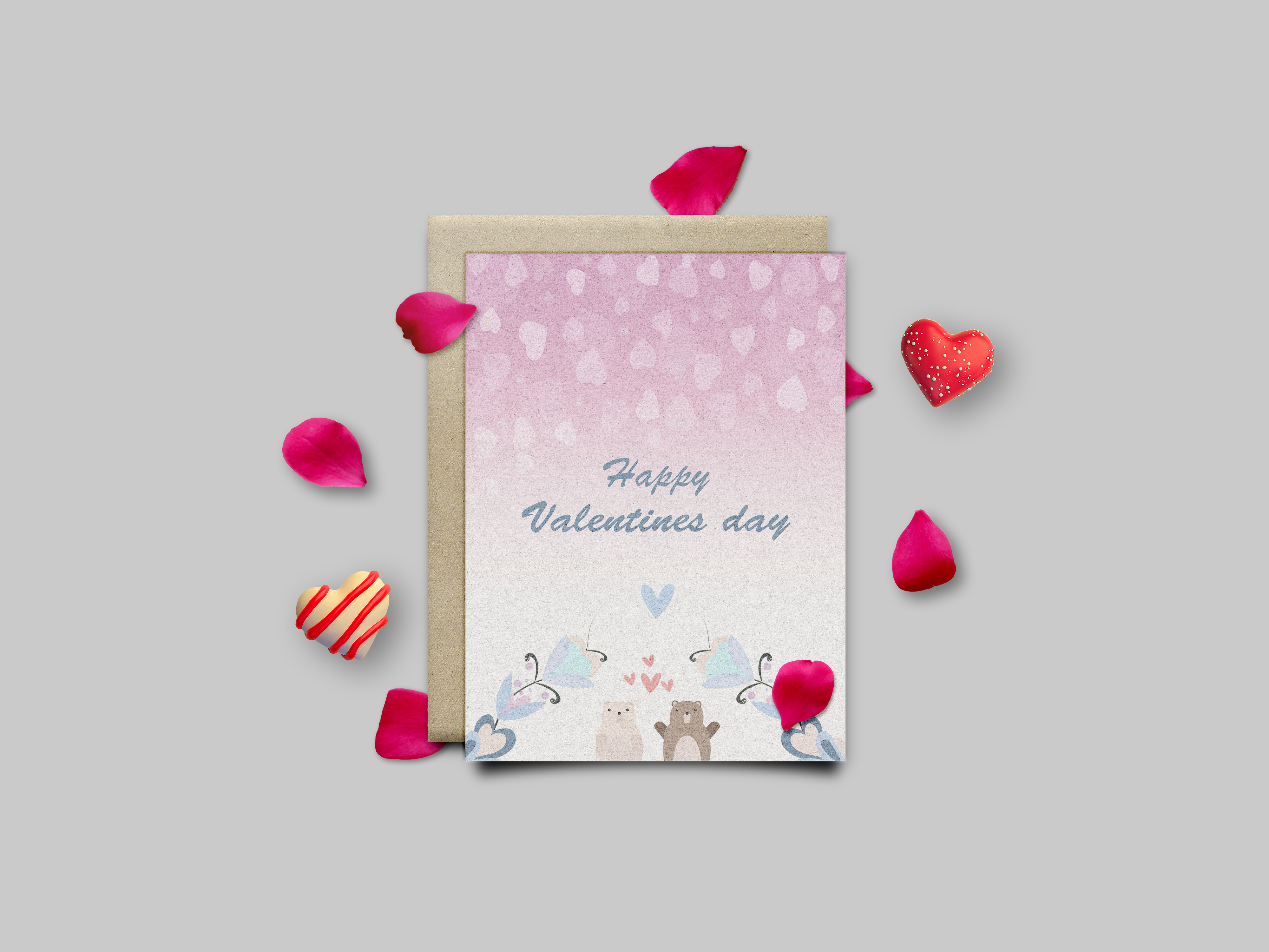 I am your Valentine vector illustration pack example image 4