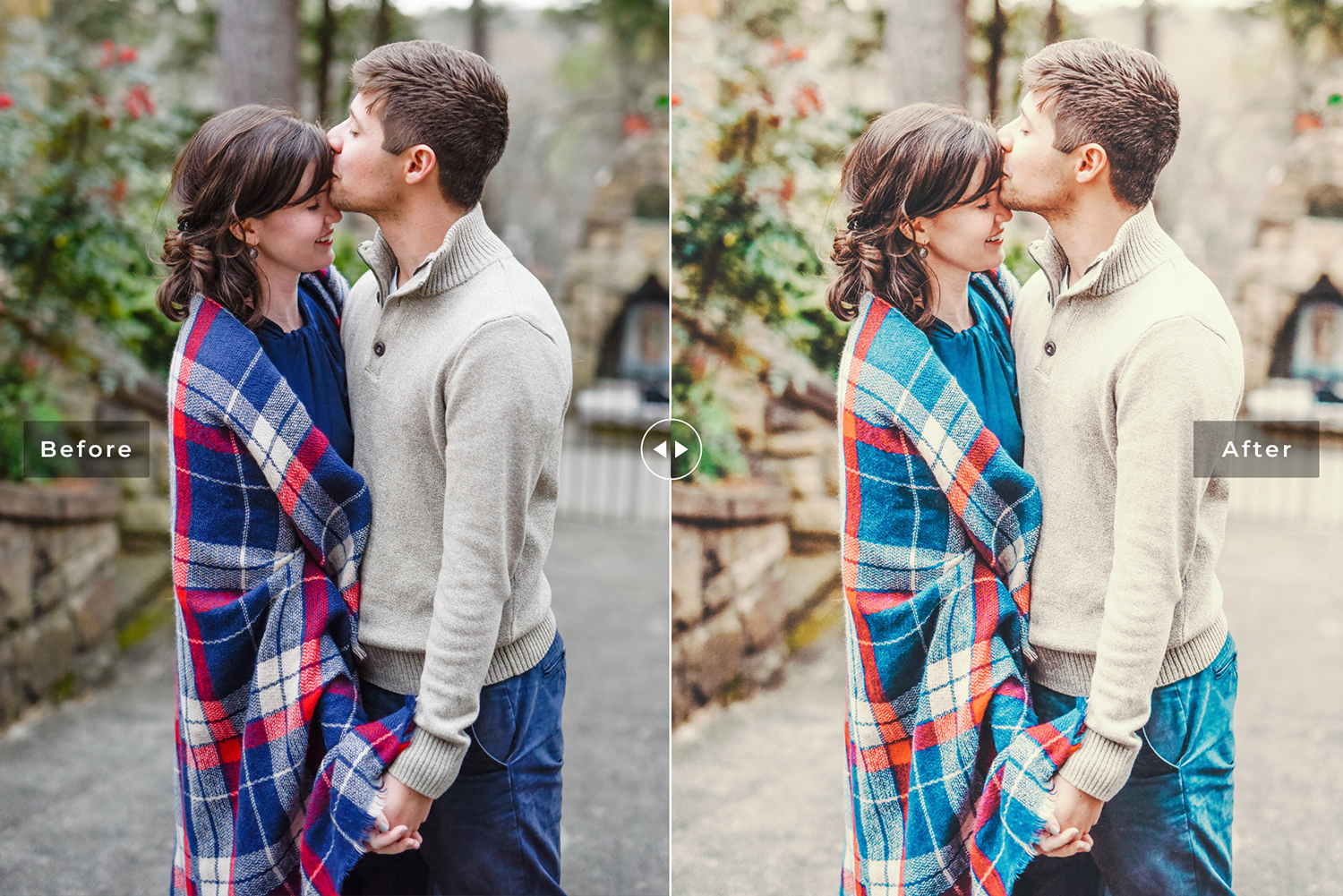 Couple Goals Mobile &amp Desktop Lightroom Presets Pack example image 4