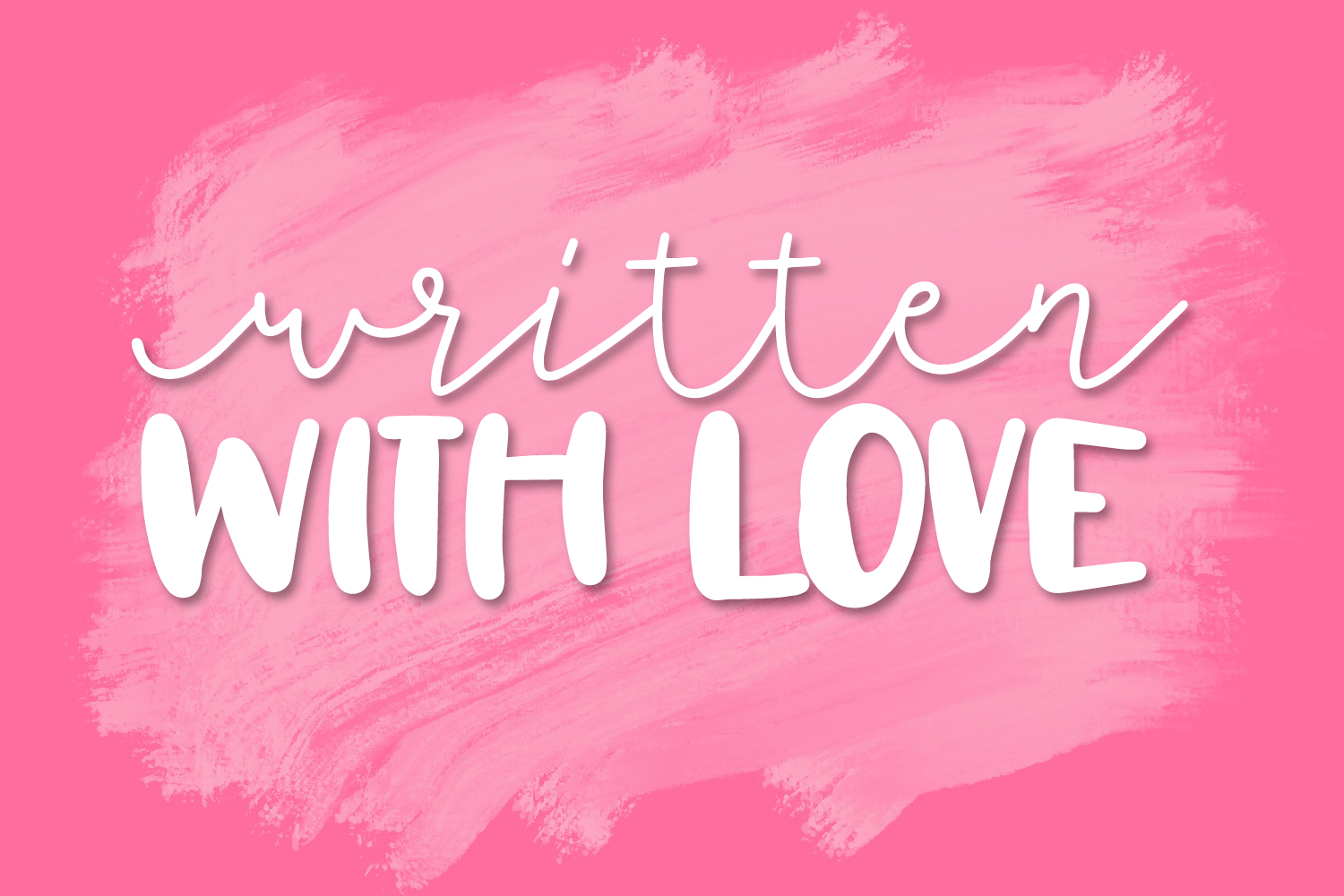 Totally Lovely - A Script & Print Font Duo example image 7