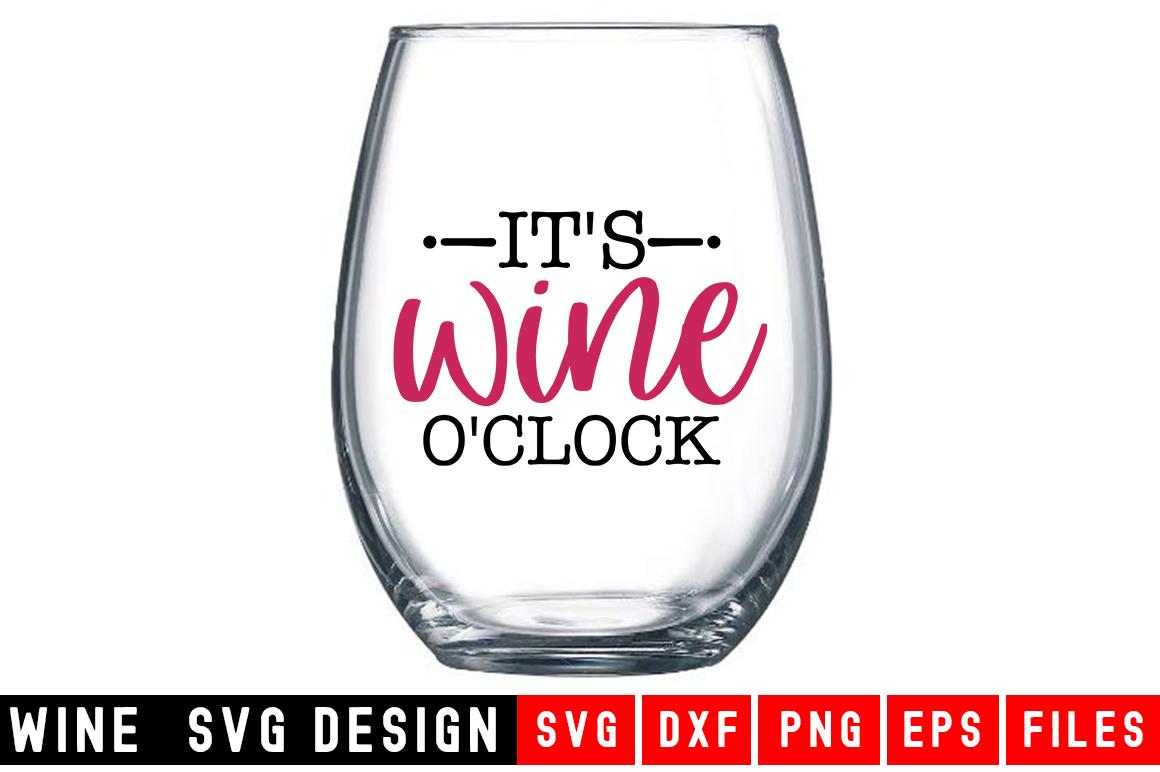 Wine SVG Bundle  10 Designs Wine SVG example image 3